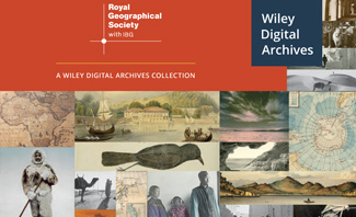 Wiley Digital Archives - Royal Geographical Society
