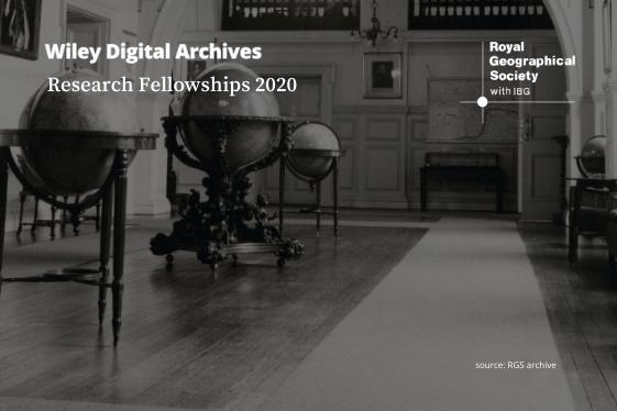 RGS WDA Fellowships 2020